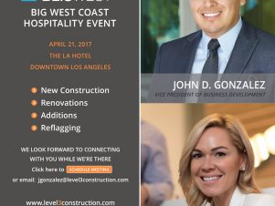 """Level 3 Will Be Attending Bisnow's """"Big West Coast Hospitality Event – BLIS WEST"""""""